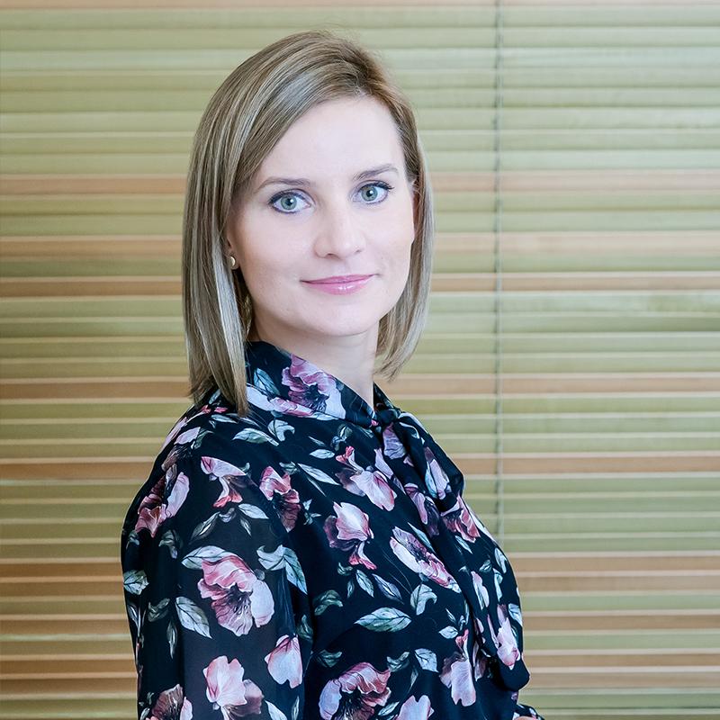 Kamila Jakubowska Dyrektor administracyjnyn Kliniki Estetyki Ciała